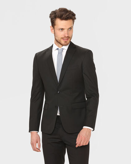 HERREN-ULTRA-SLIM-FIT-SAKKO TOM Schwarz