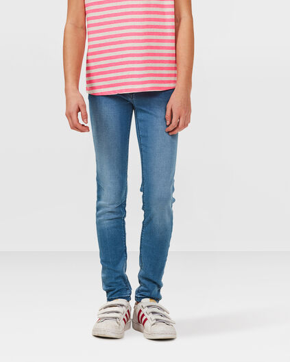 MÄDCHEN-SUPER-SKINNY-POWER-STRETCH-JEGGING Hellblau