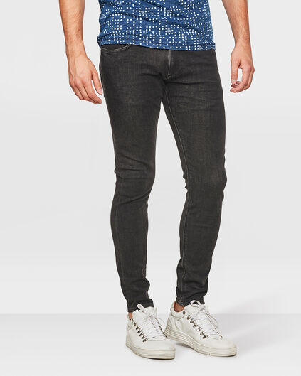 HERREN-360°-STRETCHJEANS IM SUPERSKINNY-FIT Schwarz