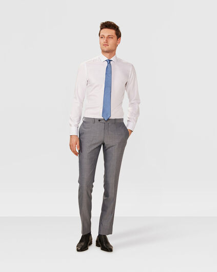 HERREN-SLIM-FIT-ANZUGHOSE WARRICK Grau