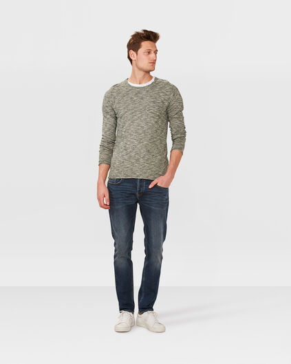 HERREN-SLIM-TAPERED-JOG-DENIM Dunkelblau