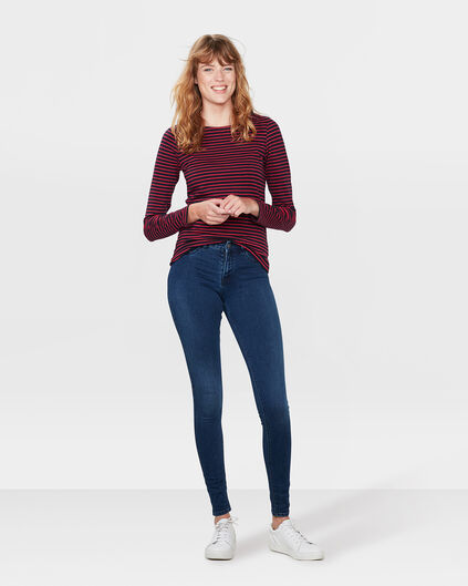 DAMEN-MID-RISE-SUPERSKINNY-HIGH-STRETCH-JEGGING Blau