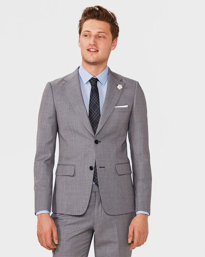 ULTRA-SLIM-FIT-HERRENSAKKO WILSON Dunkelblau