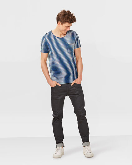HERREN-SKINNY-FIT--SUPER-STRETCH -JEANS Dunkelblau