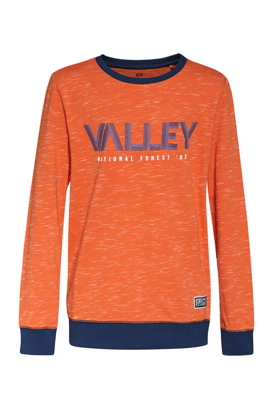 "Jungenshirt ""Valley"" Orange"