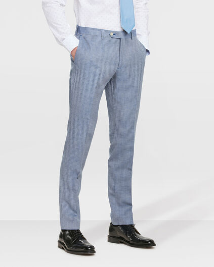 PANTALON SLIM FIT HIGHBURY HOMME Bleu eclair