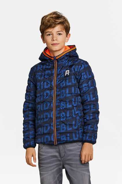 JUNGEN-WENDEJACKE Orange