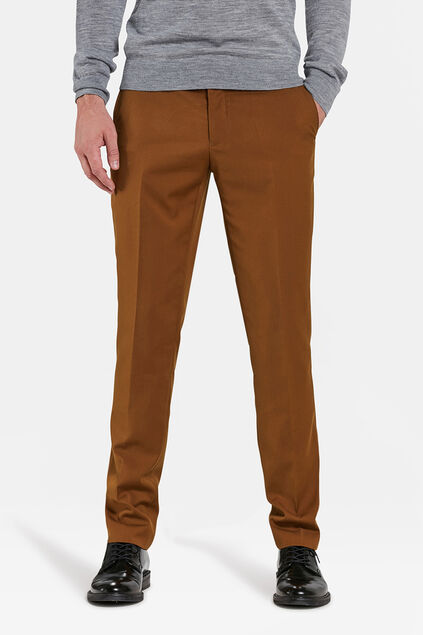 PANTALON SLIM FIT DALI HOMME Brun