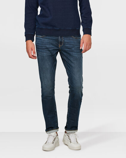 JOG DENIM REGULAR STRAIGHT HOMME Bleu