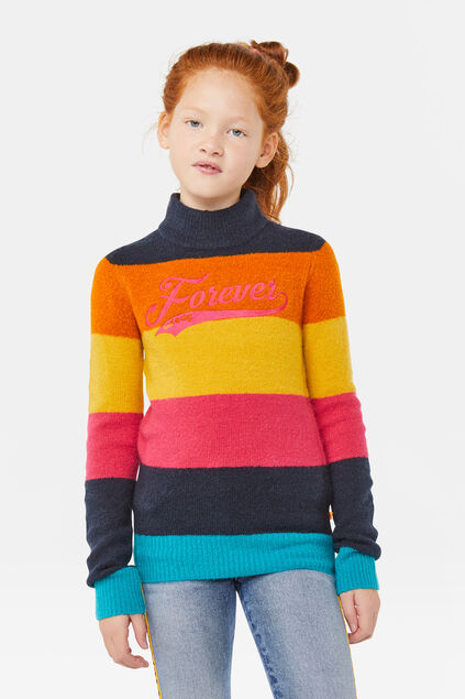 Sweat-shirt forever fille Multicolore