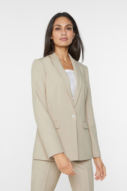 Costume chiné regular fit femme