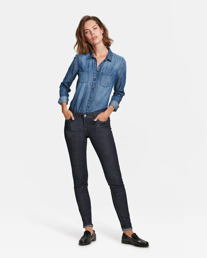 DAMEN MID RISE SKINNY HIGH STRETCH JEANS Indigo