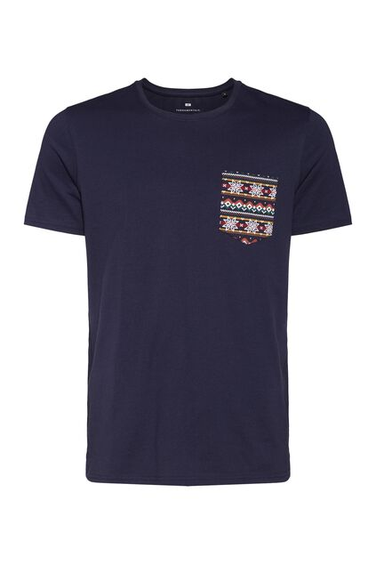 T-shirt lounge wear homme Bleu marine