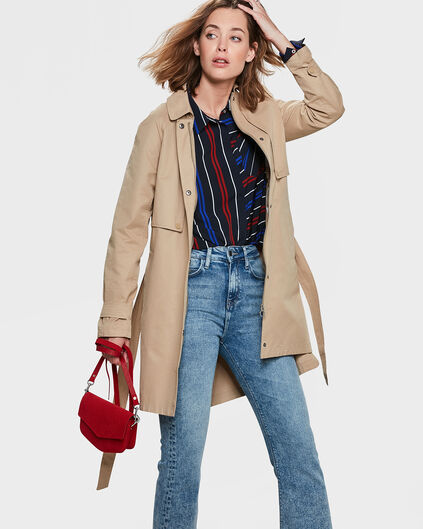TRENCH-COAT CLASSIC FEMME Beige