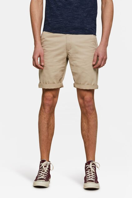 Herren-Regular-Fit-Chinoshorts Beige