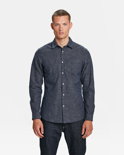 BLUE RIDGE HERREN-SLIM-FIT-HEMD Indigo