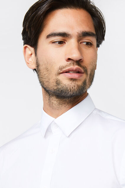 CHEMISE SLIM FIT STRETCH HOMME Blanc