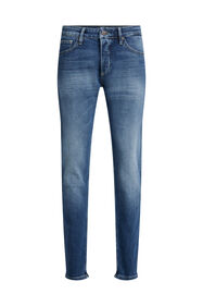 Herren-Slim-Fit-Jeans mit Comfort-Stretch_Herren-Slim-Fit-Jeans mit Comfort-Stretch, Dunkelblau