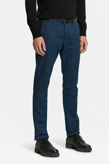 CHINO SKINNY FIT HOMME Bleu