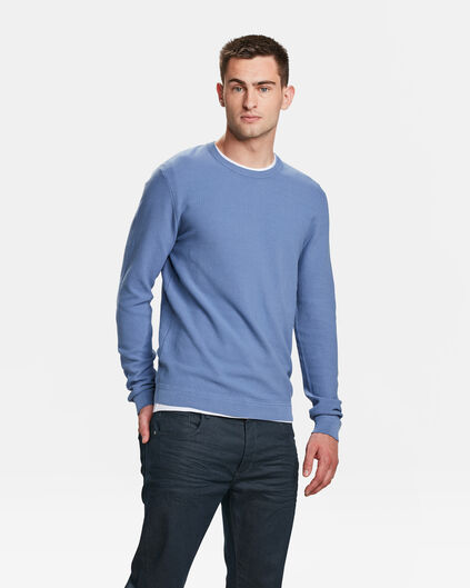 PULL STRUCTURE KNIT HOMME Lavande
