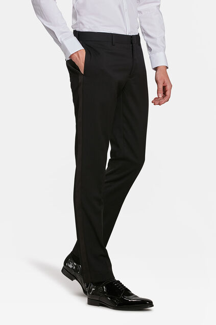 PANTALON DE SMOKING SLIM FIT DALI HOMME Noir