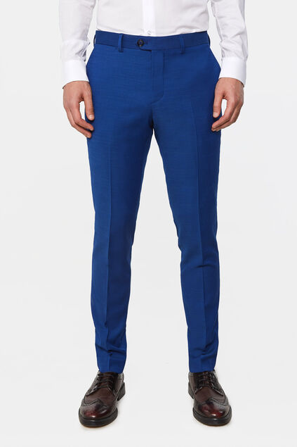 Pantalon slim fit Johnson homme Bleu