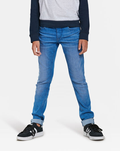 JUNGEN-SUPERSKINNY-POWER-STRETCH-JEANS Blau