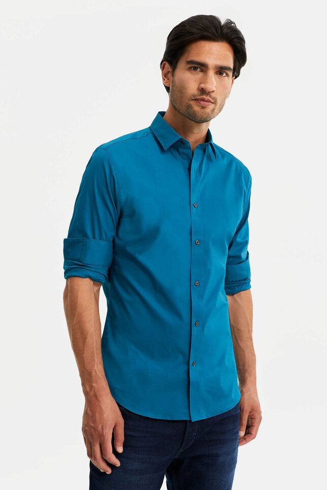 Chemise slim fit stretch homme l'Essence