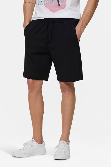 Short sweat homme Noir