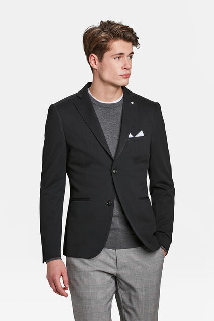 BLAZER SKINNY FIT A STRUCTURE HOMME Noir