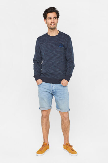 Short denim regular fit homme Bleu eclair