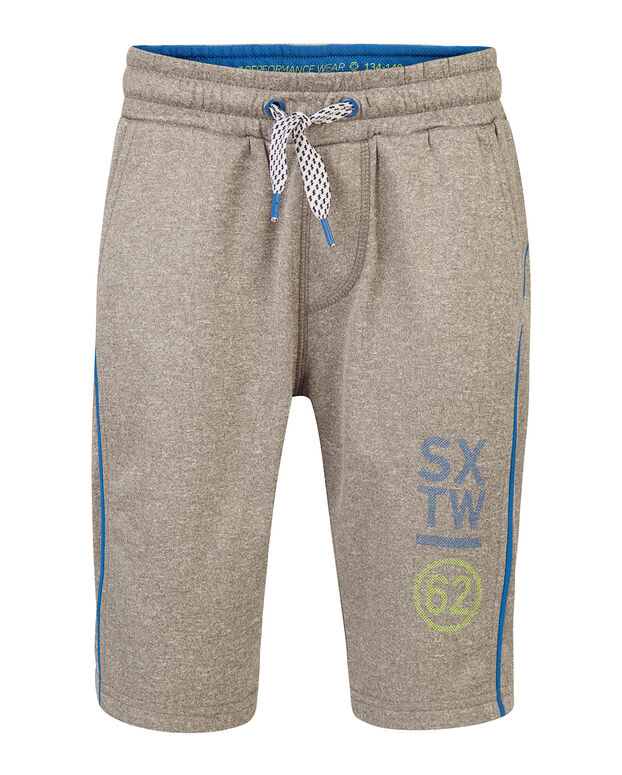 SHORT SWEAT GARÇON Gris