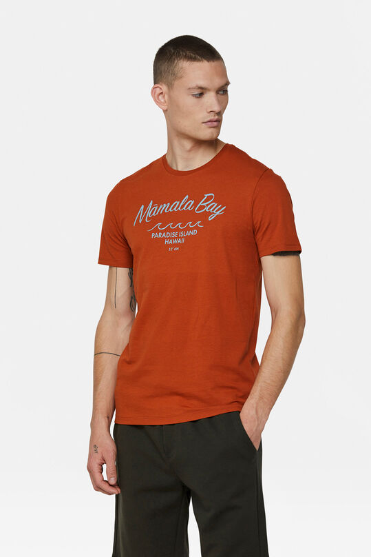 T-shirt mamala bay print homme Orange
