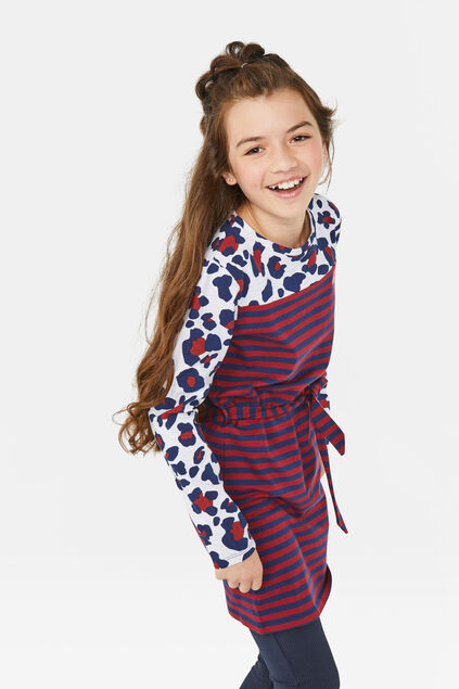 Robe totally awesome fille Blanc