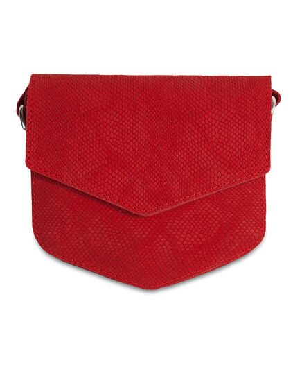 SAC SUEDE POPPY RED FEMME Rouge