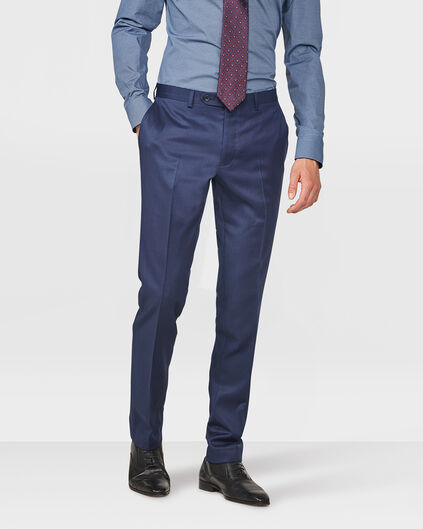 HEREN SLIM FIT PANTALON DAYTON Dunkelblau
