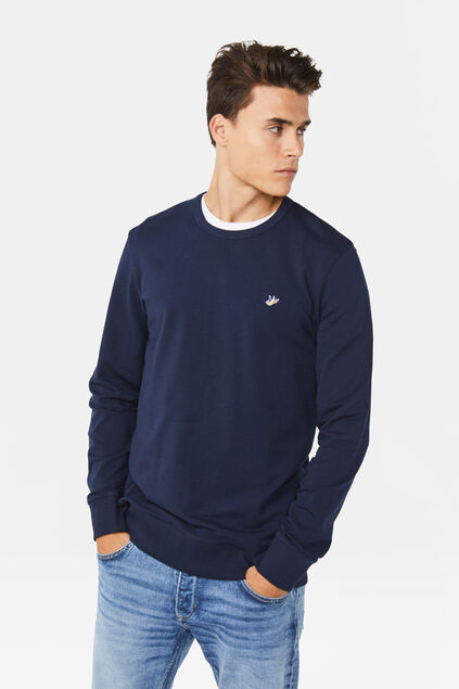 Sweat-shirt homme Bleu marine