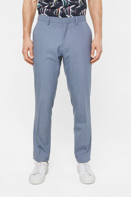 Pantalon regular fit stretch Dali homme Bleu gris