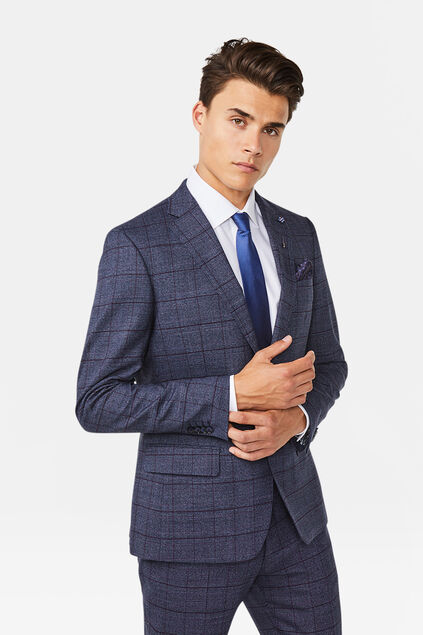 Blazer regular fit Stayton homme Bleu marine