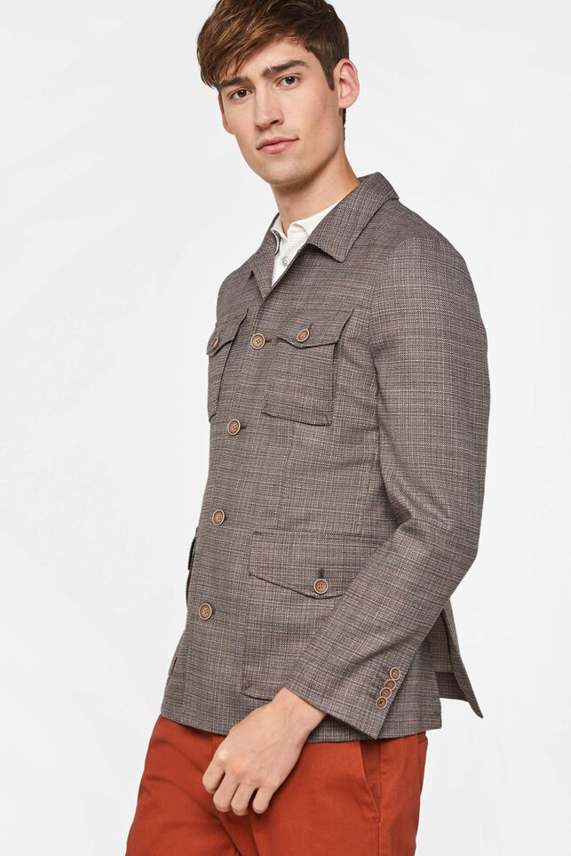 Blazer slim fit multicolore homme Multicolore