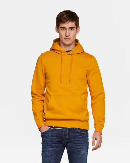 HOODIE HOMME Jaune moutarde