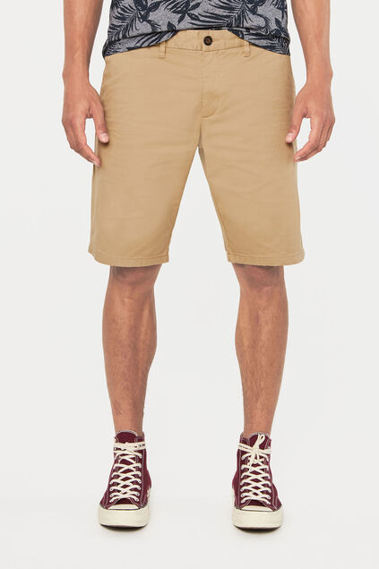 Long short chino homme Beige