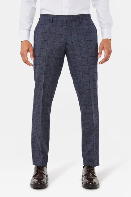 Pantalon regular fit Stayton homme Bleu marine