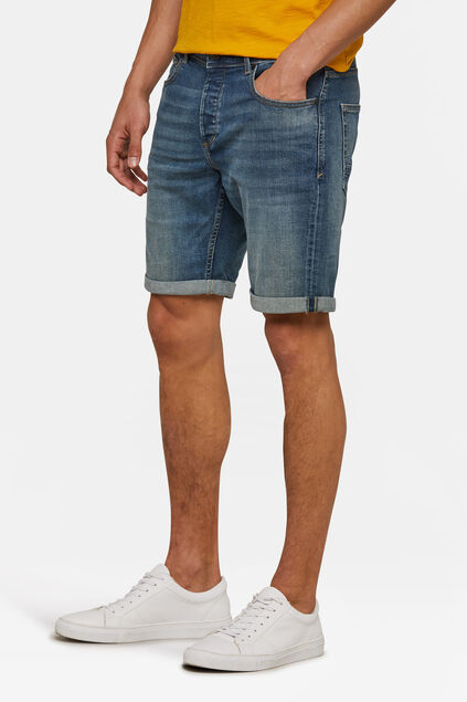 Short regular fit homme Bleu