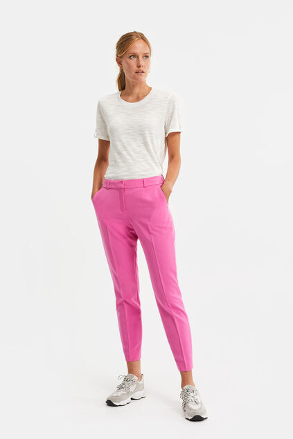 Damen-Slim-Fit-Hose Rosa