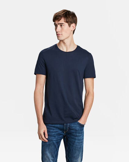 T-SHIRT REGULAR FIT HOMME Bleu marine