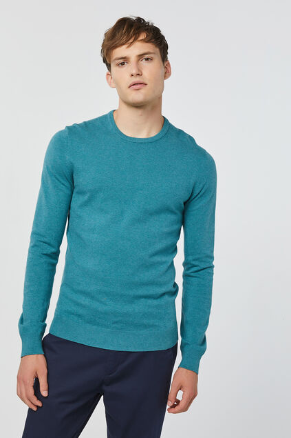 Pull homme Turquoise