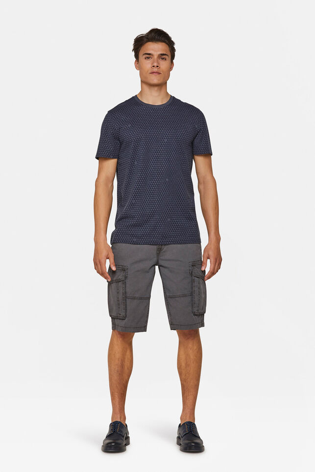 Short cargo relaxed fit homme Gris