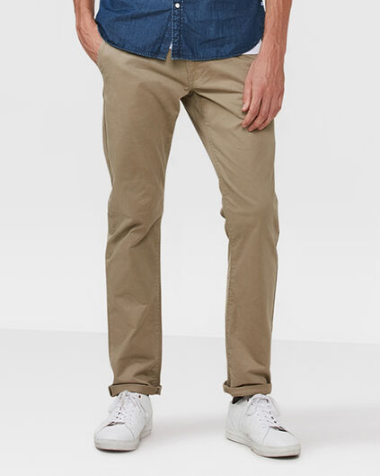 CHINO SLIM FIT CASUAL HOMME Brun