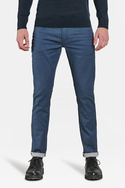 Jeans slim fit comfort stretch homme Bleu gris